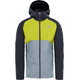 The North Face M's Stratos Jacket Asphalt Grey/Citronelle Green/Mid Grey